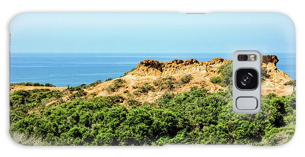 Torrey Pines California - Chaparral On The Coastal Cliffs Galaxy Case