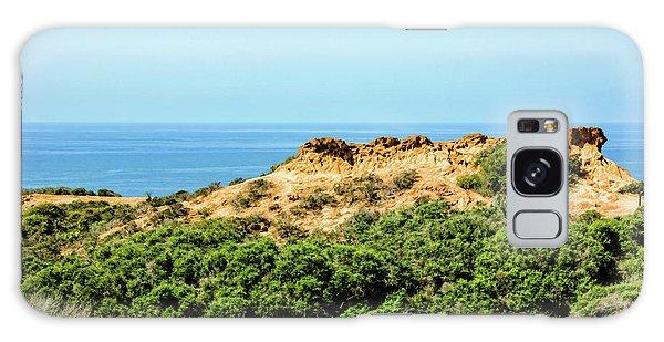Torrey Pines California - Chaparral On The Coastal Cliffs Galaxy Case