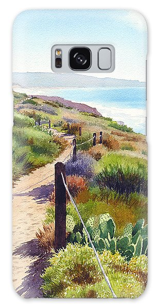 Planets Galaxy Case - Torrey Pines Guy Fleming Trail by Mary Helmreich