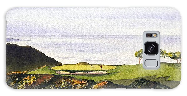 Torrey Pines South Golf Course Galaxy Case by Bill Holkham