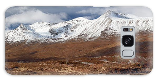 Galaxy Case featuring the photograph Torridon Panorama by Grant Glendinning