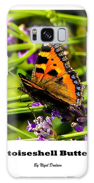 Tortoiseshell Butterfly. Galaxy Case