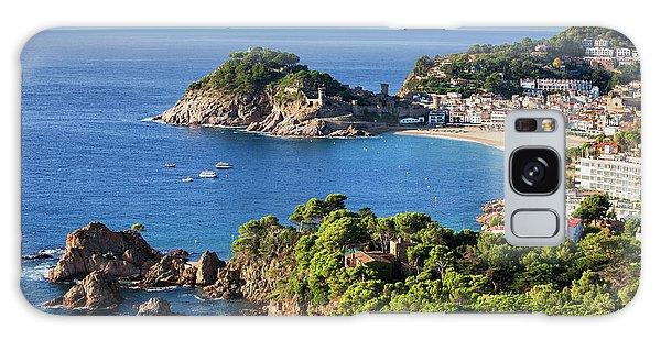 Tossa De Mar Sea Town On Costa Brava In Spain Galaxy Case