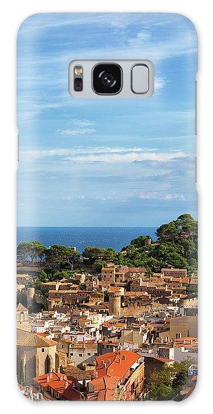 Tossa De Mar Seaside Town In Spain Galaxy Case