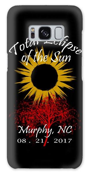 Total Eclipse T-shirt Art Murphy Nc Galaxy Case
