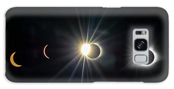 Total Solar Eclipse Sequence Galaxy Case