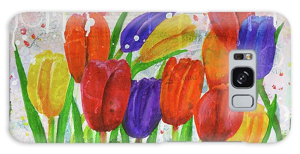 Totally Tulips Galaxy Case