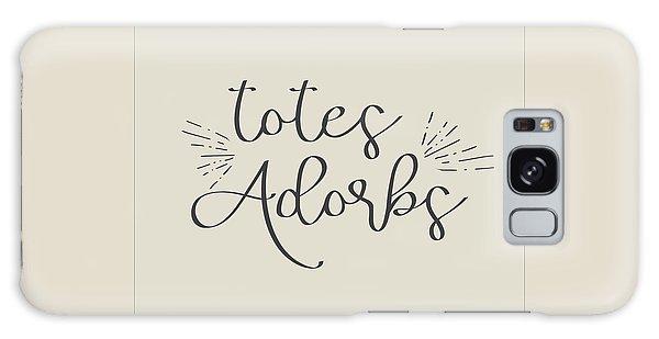 Totes Adorbs Galaxy Case by Jaime Friedman
