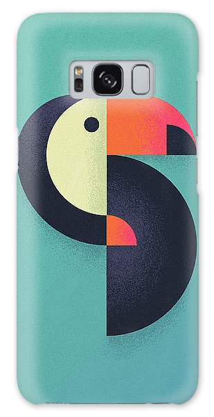 Toucan Galaxy S8 Case - Toucan Geometric Airbrush Effect by Ivan Krpan