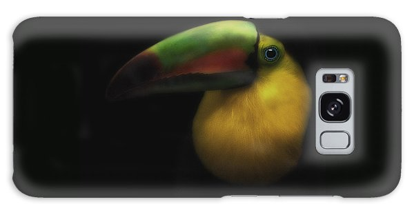 Toucan On Black Galaxy Case