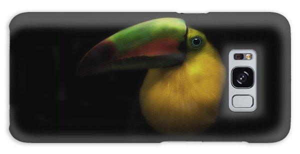 Toucan On Black Galaxy Case