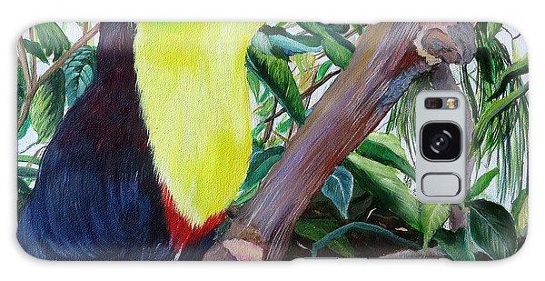 Toucan Portrait Galaxy Case