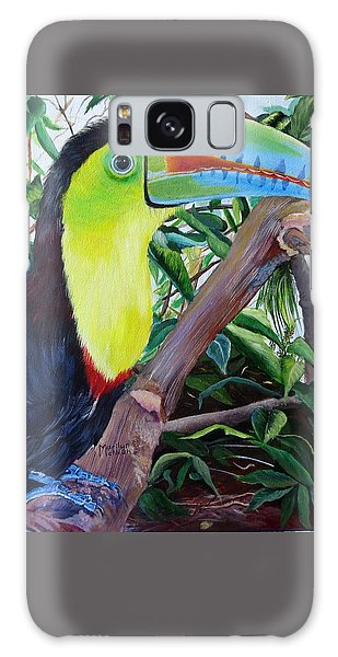 Toucan Portrait Galaxy Case