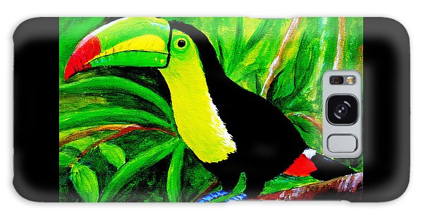 Toucan Sam Galaxy Case by Anne Marie Brown