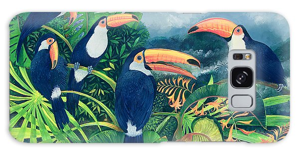 Toucan Galaxy S8 Case - Toucan Talk by Lisa Graa Jensen