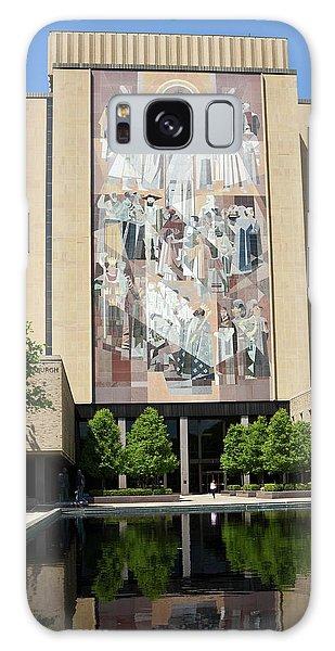 Touchdown Jesus Mural Galaxy Case