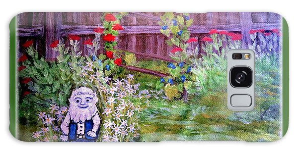 Touched By A Gnome In Grandma's Secret Garden Galaxy Case by Kimberlee Baxter