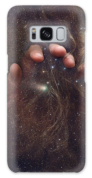 Touching The Stars Galaxy Case