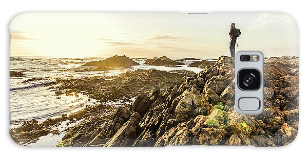 West Bay Galaxy Case - Touring Tasmania by Jorgo Photography - Wall Art Gallery