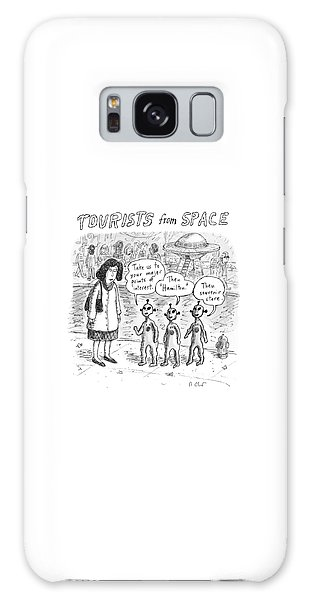 Tourists From Space Galaxy Case