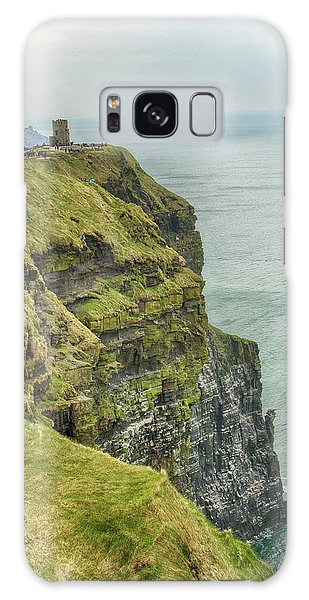 Tower At The Cliffs Of Moher Galaxy Case