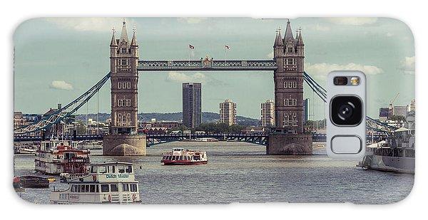 Tower Bridge B Galaxy Case