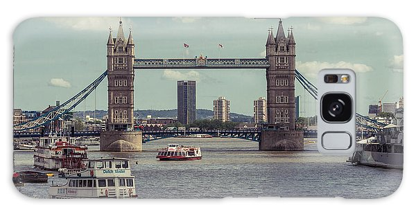 Tower Bridge B Galaxy Case