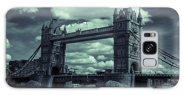 Tower Bridge Bw Galaxy Case