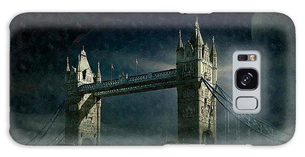 Tower Bridge In Moonlight Galaxy Case