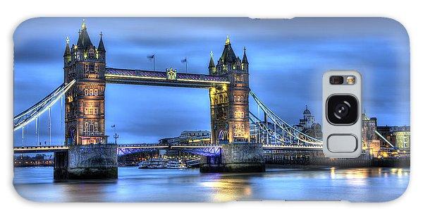 Tower Bridge London Blue Hour Galaxy Case by Shawn Everhart