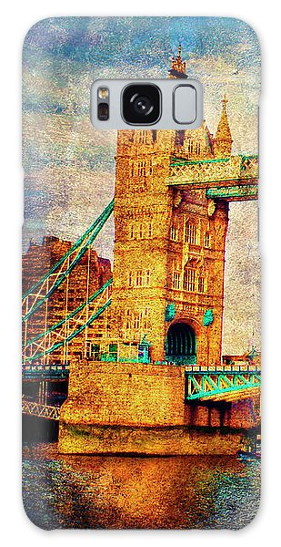 Tower Bridge London Galaxy Case by Judi Saunders