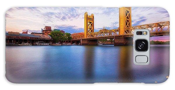 Tower Bridge Sacramento 3 Galaxy Case