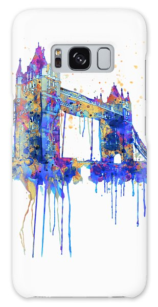 Tower Bridge Watercolor Galaxy Case