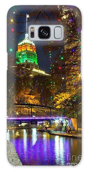Tower Life Riverwalk Christmas Galaxy Case