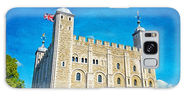 Tower Of London Galaxy Case