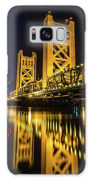 Tower Reflections Galaxy Case
