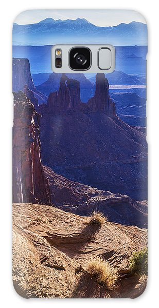 Desert View Tower Galaxy Case - Tower Sunrise by Chad Dutson