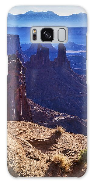 Airport Galaxy Case - Tower Sunrise by Chad Dutson