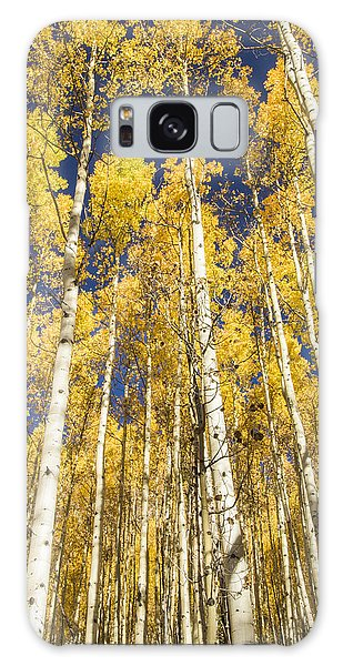 Towering Aspens Galaxy Case by Phyllis Peterson