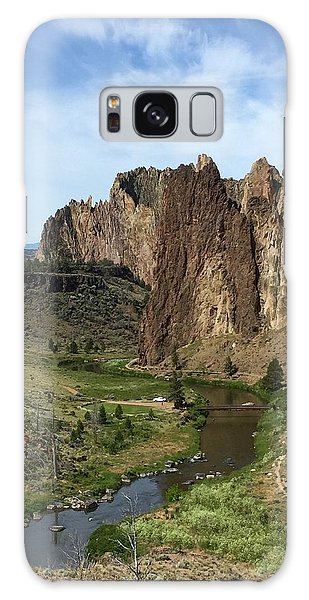 Towering Smith Rocks Galaxy Case