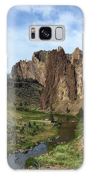 Towering Smith Rocks Galaxy Case
