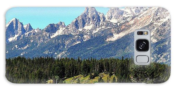 Towering Teton Range  Galaxy Case