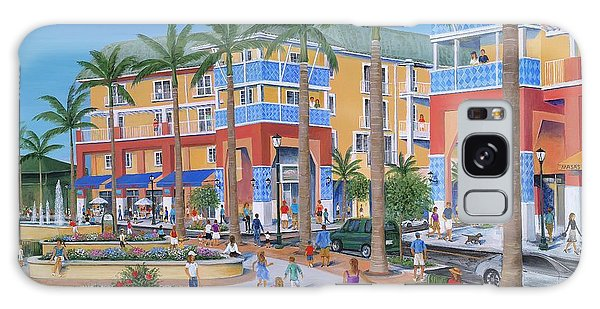 Roger Dean Galaxy Case - Town Center Abacoa Jupiter by Marilyn Dunlap