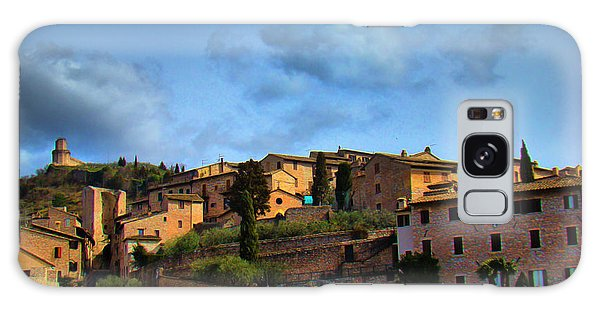 Town Of Assisi, Italy II Galaxy Case