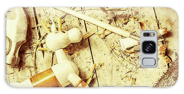 Toy Making At Santas Workshop Galaxy Case by Jorgo Photography - Wall Art Gallery