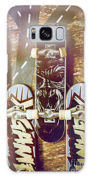 Truck Galaxy Case - Toy Skateboards by Jorgo Photography - Wall Art Gallery