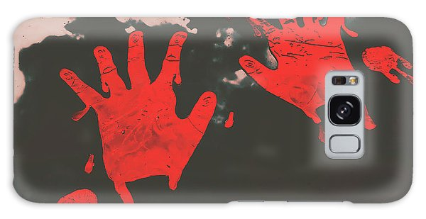 Zombies Galaxy Case - Trace Of A Serial Killer by Jorgo Photography - Wall Art Gallery