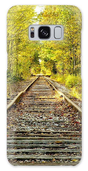 Track To Nowhere Galaxy Case by Greg Fortier