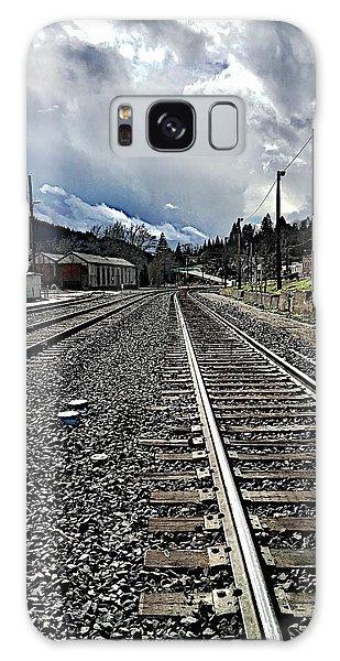 Tracks Galaxy Case by JoAnn Lense