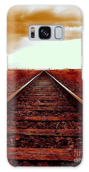 Marfa Texas America Southwest Tracks To California Galaxy Case
